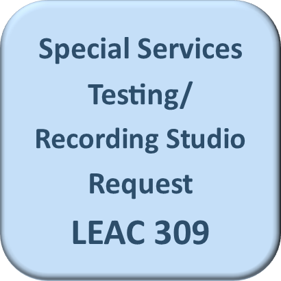 Click here for Special Services/Recording Studio