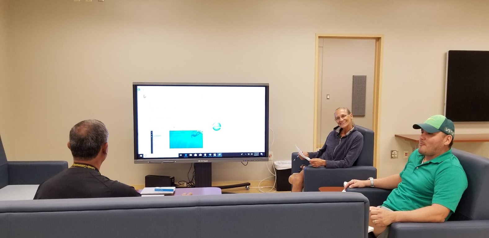 Image of Faculty at Digital Center Ft. McIntosh